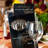 JFCS Gala Program and Menu