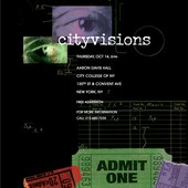 Cityvisions poster