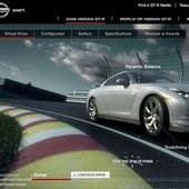 Global Nissan GT-R website
