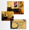 Deco Hair Studio: Interior Signage/Identity