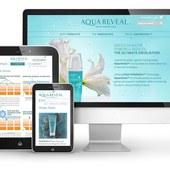 Responsive Web Design: AquaReveal