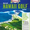 Travel Weekly Hawaii Golf supplement
