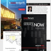 ServiceNow Conference Guides