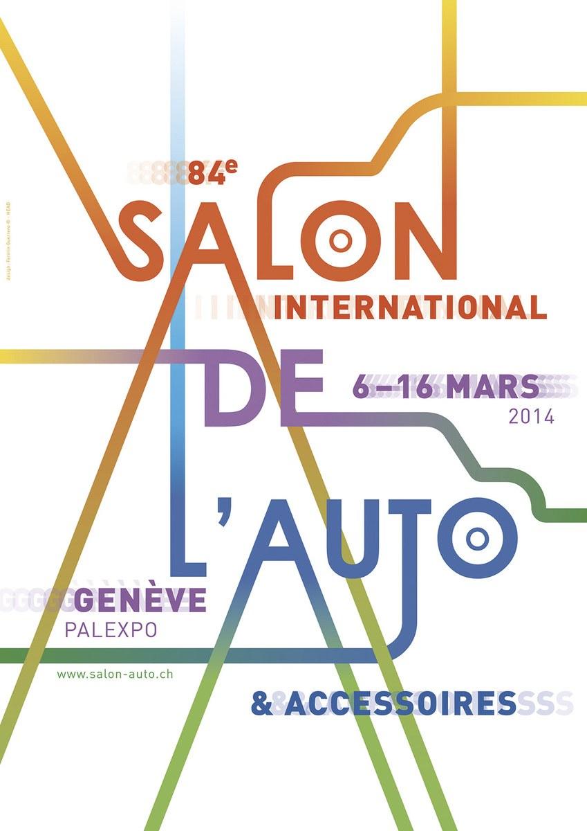 Geneva Motor Show poster