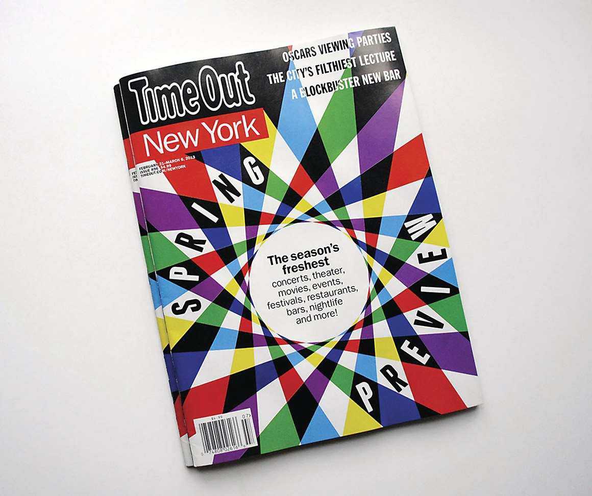 Time Out New York magazine cover