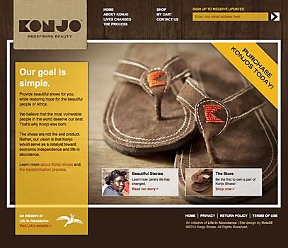 Konjo sandals