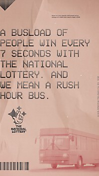 The National Lottery print ads