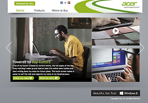 Acer: Powered By You