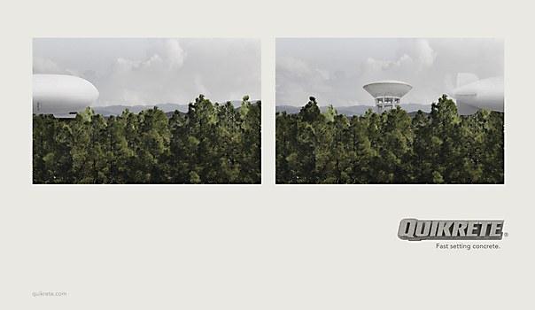 Quikrete print ads