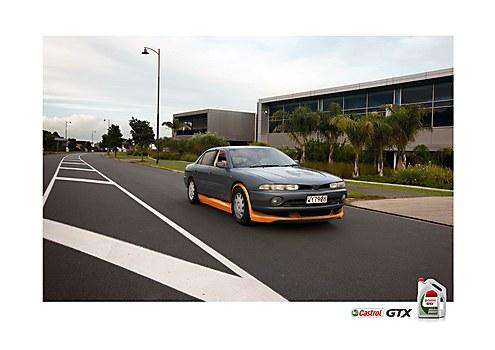 Castrol GTX print ads