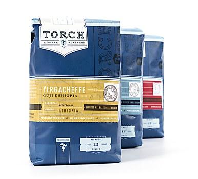 Torch Coffee identity