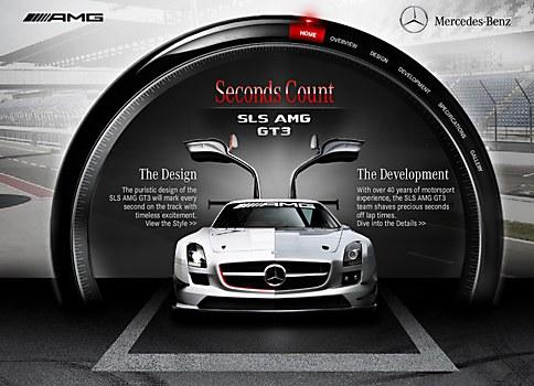 SLS AMG GT3: Seconds Count