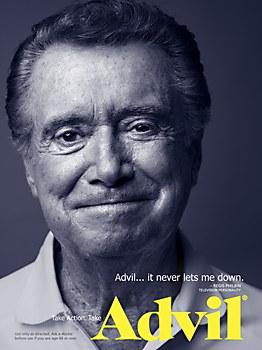 Advil print campaign