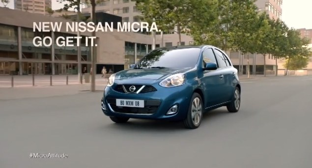 Glitch spot for Nissan Micra