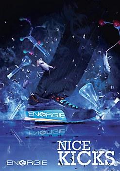 ENERGIE print ads