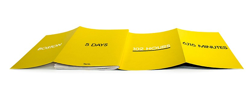 102 Hours book design