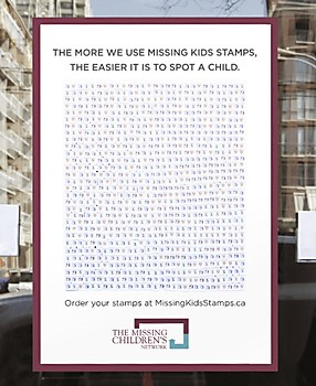 Missing Kids stamps