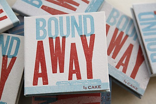 CAKE Bound Away book