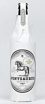 Ponysaurus beer identity