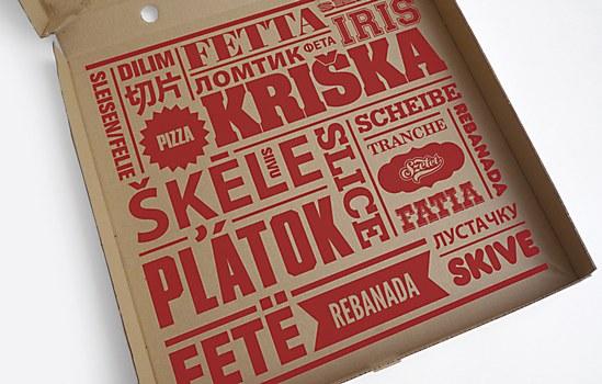 Szelet Pizzeria identity