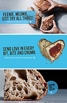 Crazy Good Bread identity