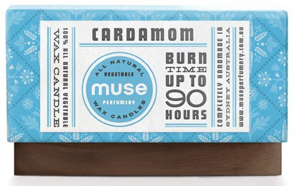 Muse Perfumery packaging
