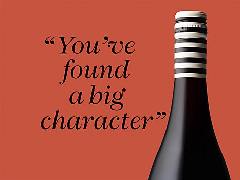 Six Foot Six Wine labeling
