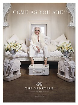 The Venetian Las Vegas print ads