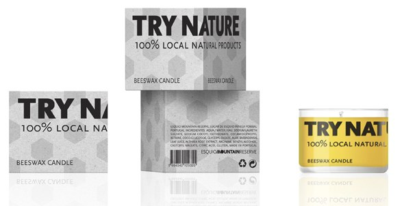 Try Nature packaging