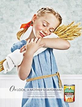 Chef Boyardee print campaign