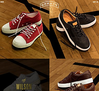 Greats Brand shoes