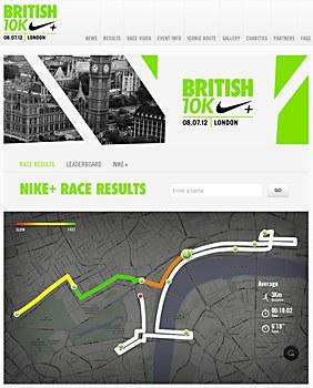 Nike British 10K