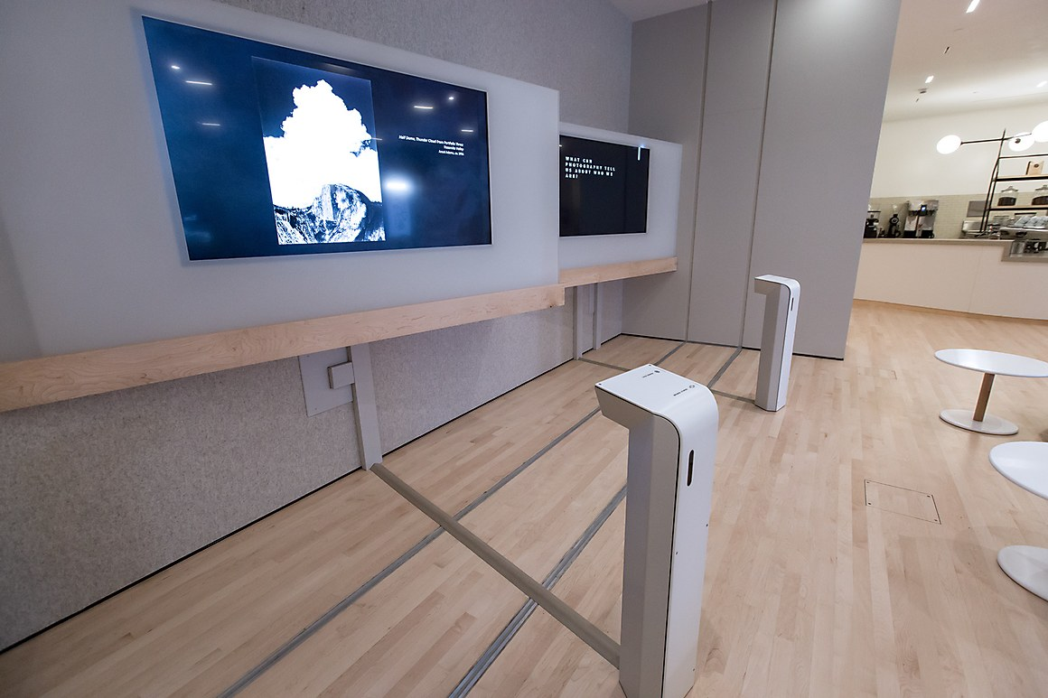 SFMOMA interpretive gallery