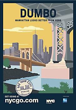 NYCgo travel posters