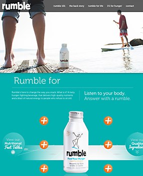 Rumble | Feed Your Hunger