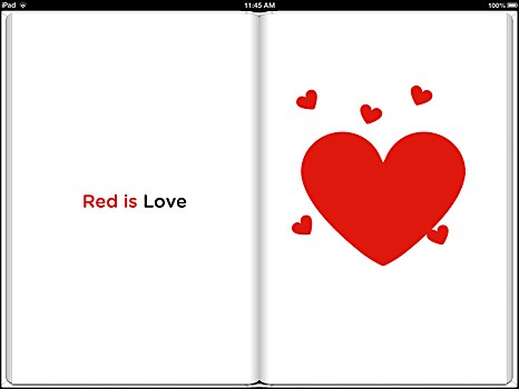 Red is...