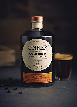 Conker Spirit Cold Brew Coffee Liqueur packaging