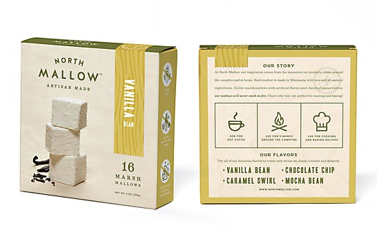 North Mallow packaging