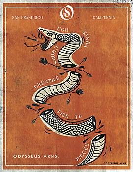 Odysseus Arms poster series