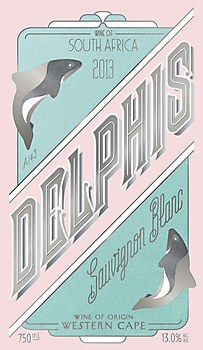 Delphis wine labels