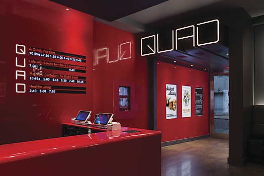 Quad Cinema identity