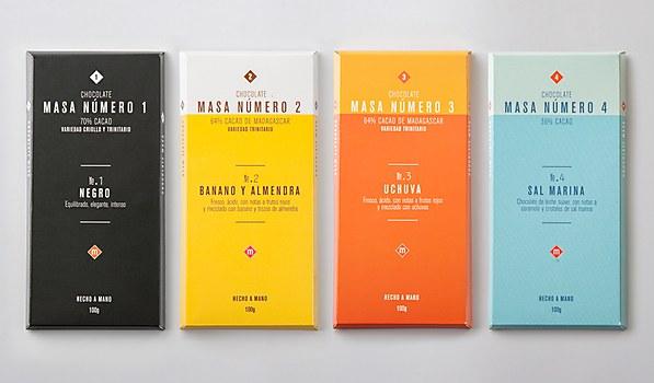 Masa Chocolate packaging