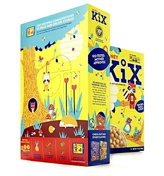 Kix packaging