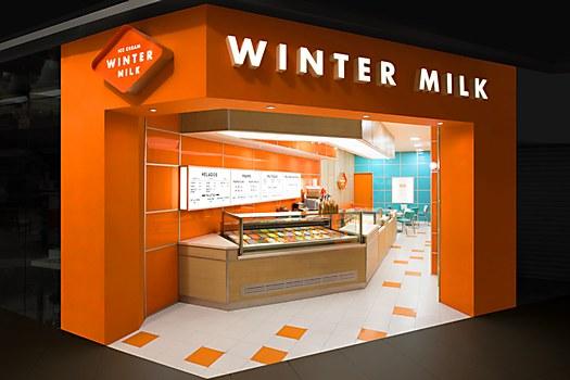 Winter Milk identity