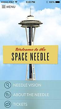 Space Needle exhibit
