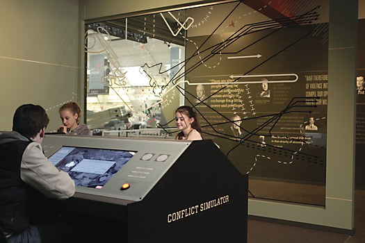 Flying Heritage & Combat Armor Museum exhibit design