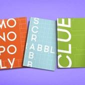 Hasbro Board Games / Packaging Redesign