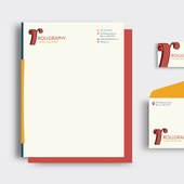 Rollgraphy Wallpaper Company: Stationery Set 1