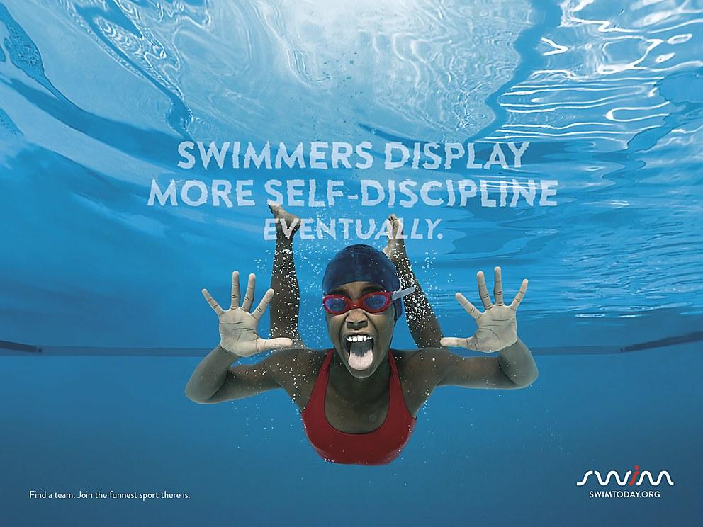 Usa Swimming Posters Communication Arts