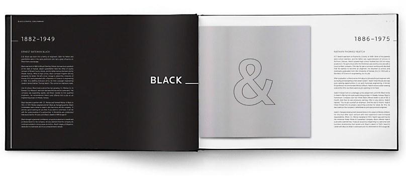 black  u0026 veatch book design